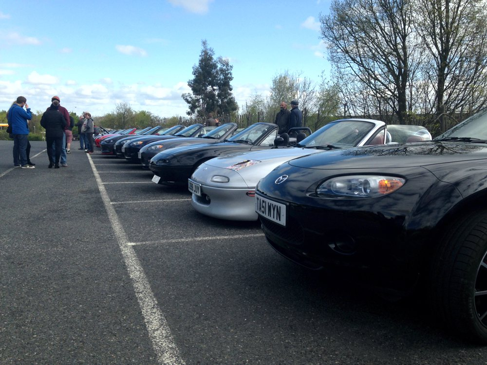 Bunch of Fives MX5 group North Wales and Cheshire